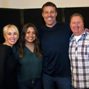 Learning to add value through Tony Robbins